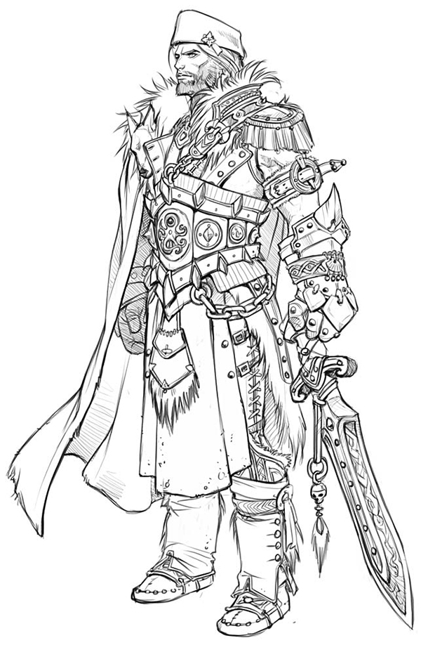 Concept Art / Costume Designs on Behance