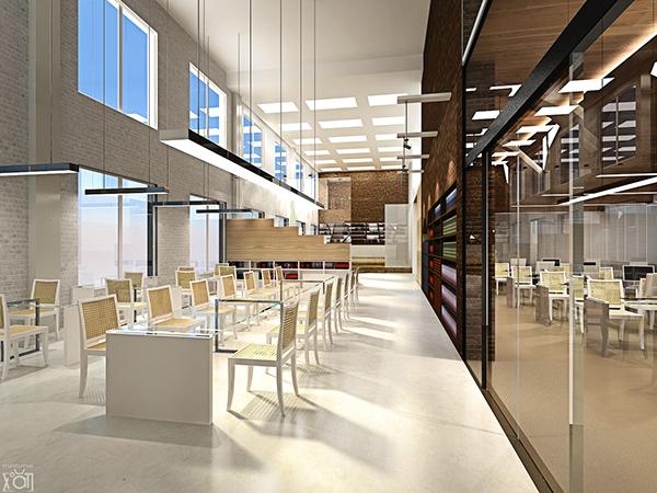 Hanoi public library Interior Design project concept on Behance
