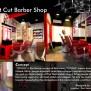 Interior Design Of West Cut Barber Shop On Behance
