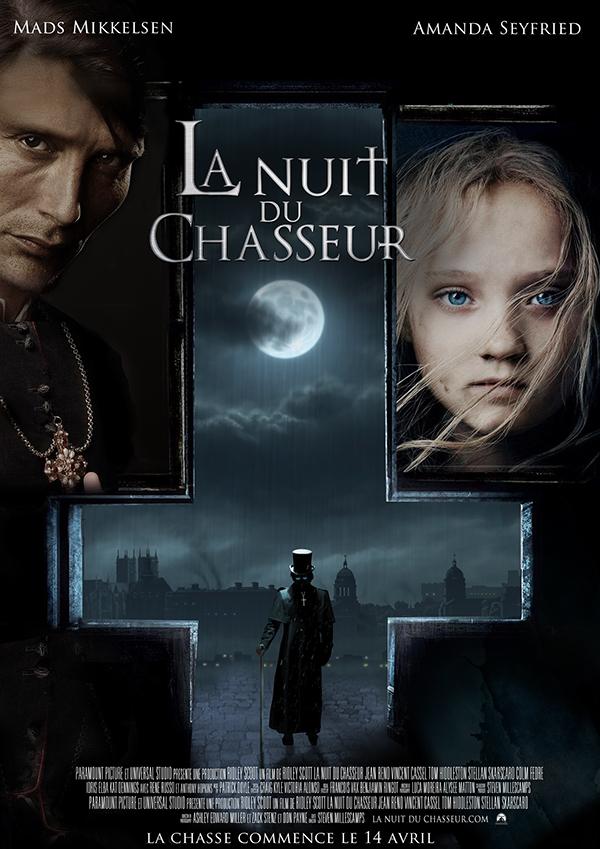La Nuit Du Chasseur Film : chasseur, Chasseur:, Affiche, Cinéma., Behance