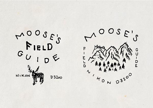 Moose's field guide X nikon 3200 on Behance
