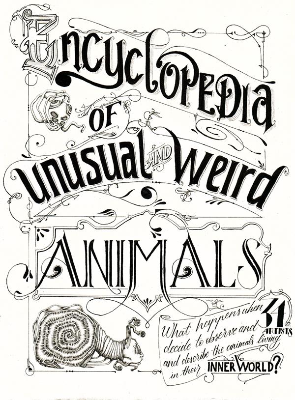 The Encyclopedia of Unusual & Weird Animals on Behance