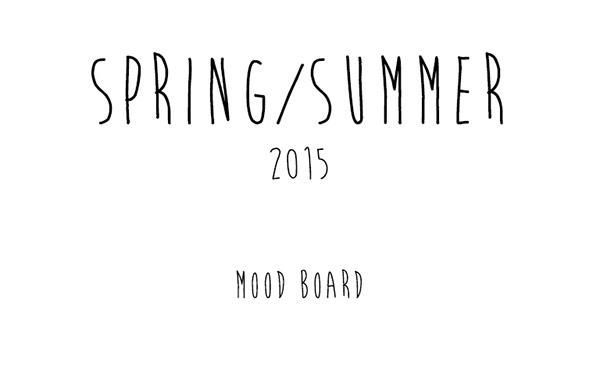S/S 2015 Trend Forecasting Boards on SCAD Portfolios