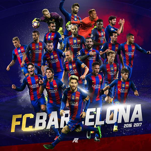 Best Live Wallpaper App Iphone X 2016 2017 Fc Barcelona Posters On Behance