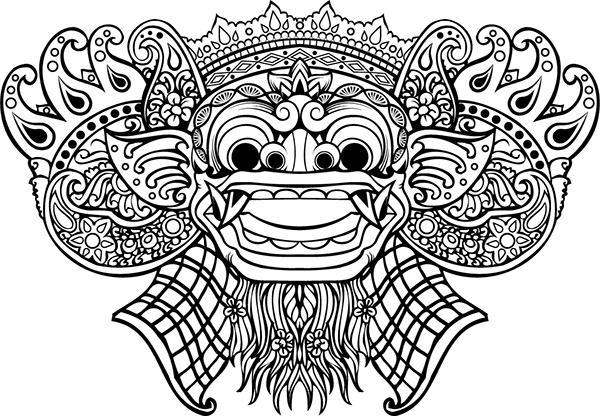 Barong Illustration On Behance