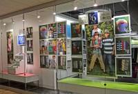 Window Marketing Design/ Print Production on SVA Portfolios