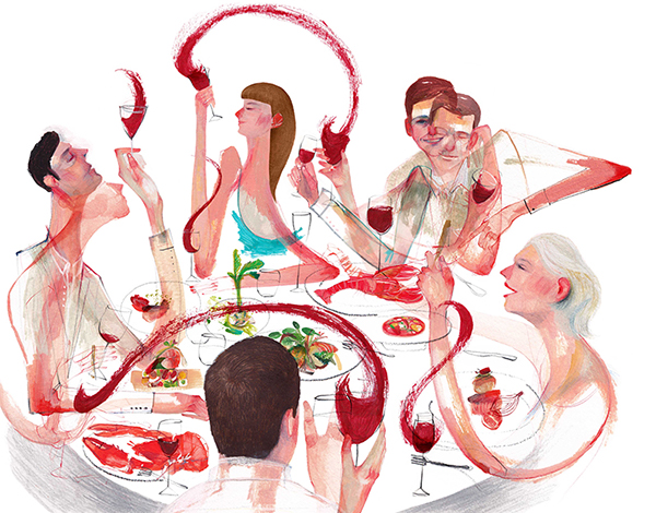 The dinner party of your dreams on Behance