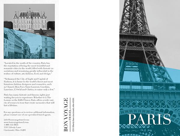 Paris Travel Brochure On Behance