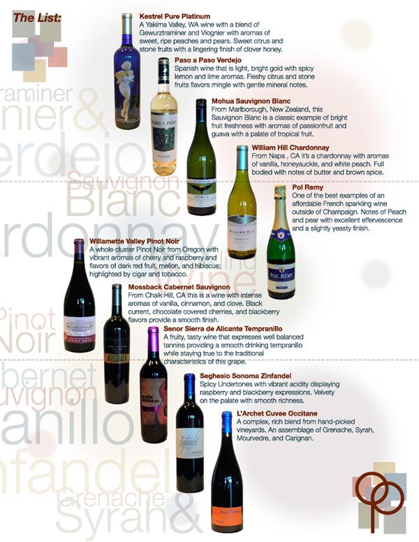 Olmos Perk & Valero Energy Wine Tasting Brochure On Behance