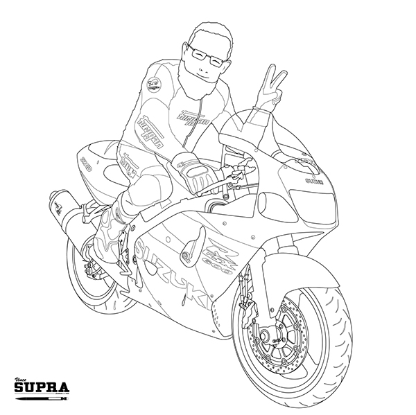 Suzuki GSXR 600 SRAD on Behance