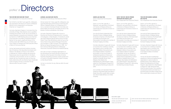 Malaysian Airlines Annual Report 2013 on Behance