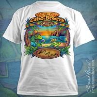 Tropical Beach Bar T-Shirt Design on Behance