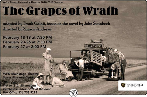 The Grapes of Wrath on Behance