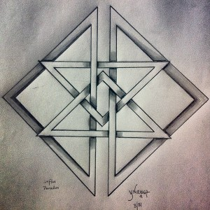 geometric drawings anxiety euphoric behance project