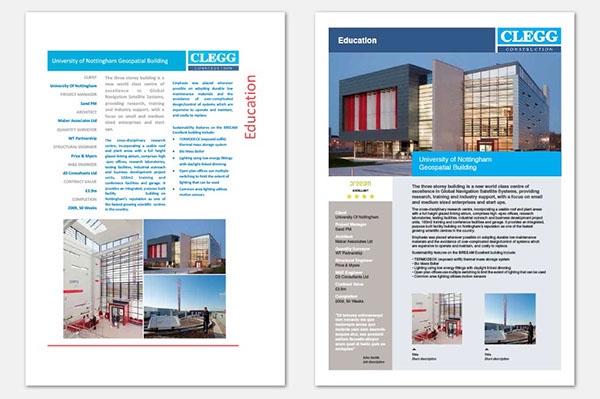 Clegg Project Data Sheet On Behance