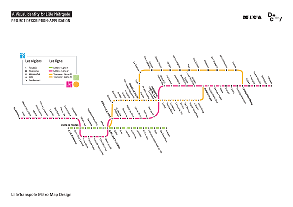 Lille Metropole_A Flexible Visual Identity on Behance