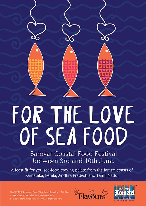 Coastal Food Festival Posters on Behance
