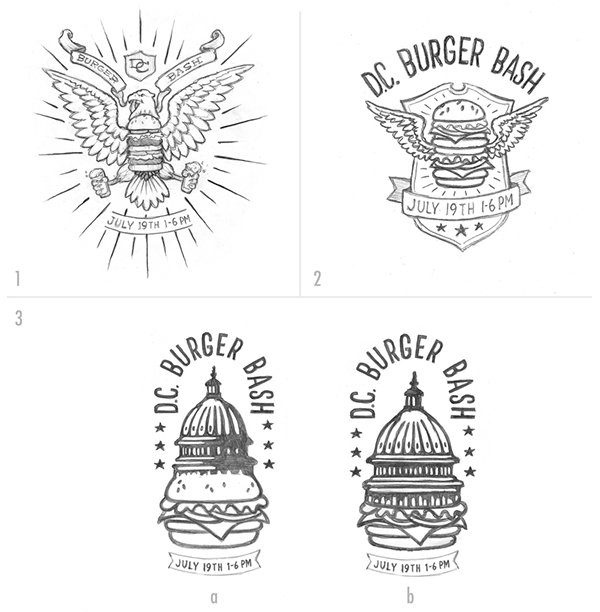 DC Burger Bash on Behance