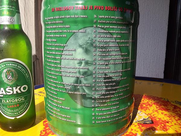 Custom Printed Vinyl on Heineken Barrel for birthday on Behance