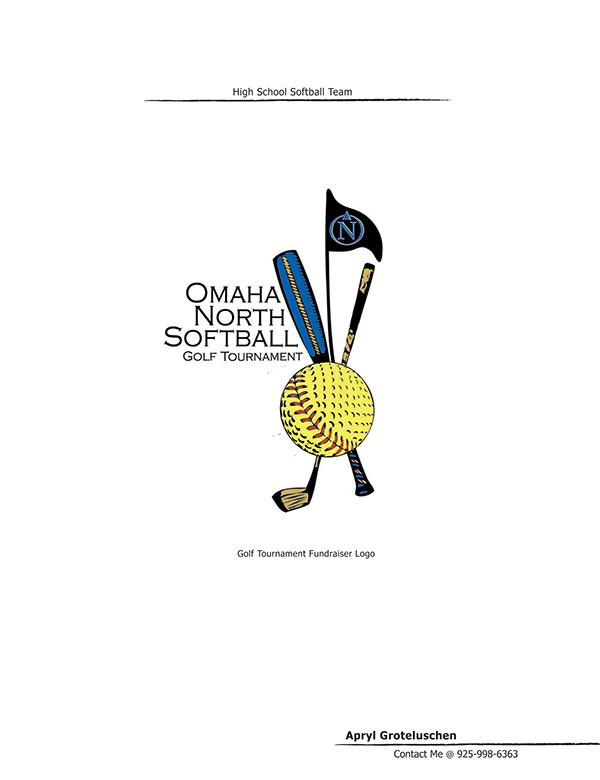 Omaha North Softball Golf Tournament on Behance
