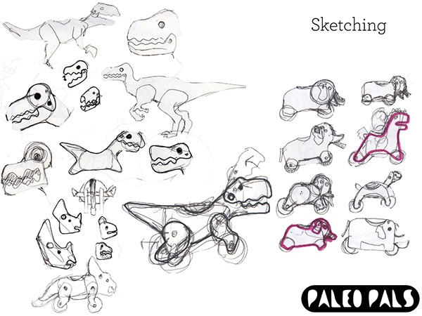 Paleo Pals: Ride-On Toys on Behance