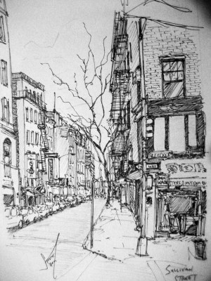 drawings york ink behance stults peter unfollow following follow