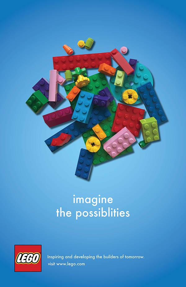 Lego Ads On SCAD Portfolios