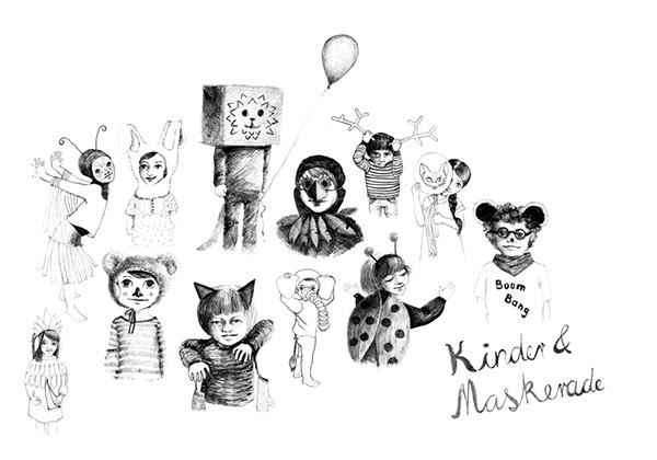 Children & Masquerade on Behance