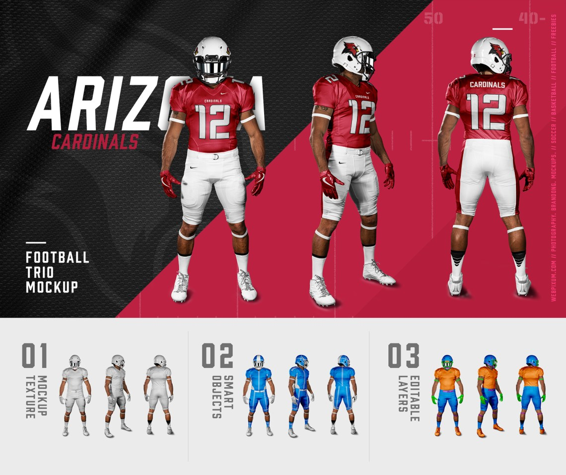 Download Trends For American Football Uniform Mockup Free - mockupsfree