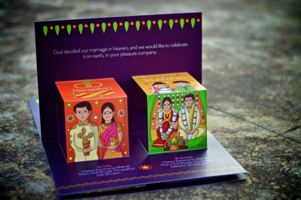 Indian wedding card designs