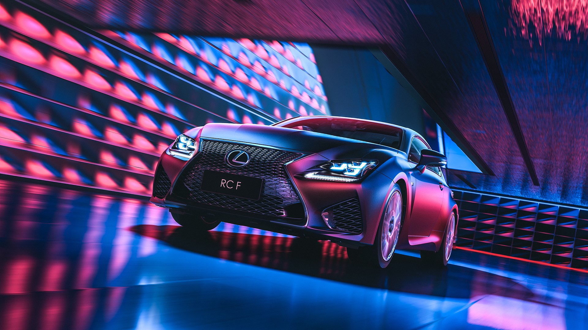 Lexus RC F CGI & Retouching on Behance