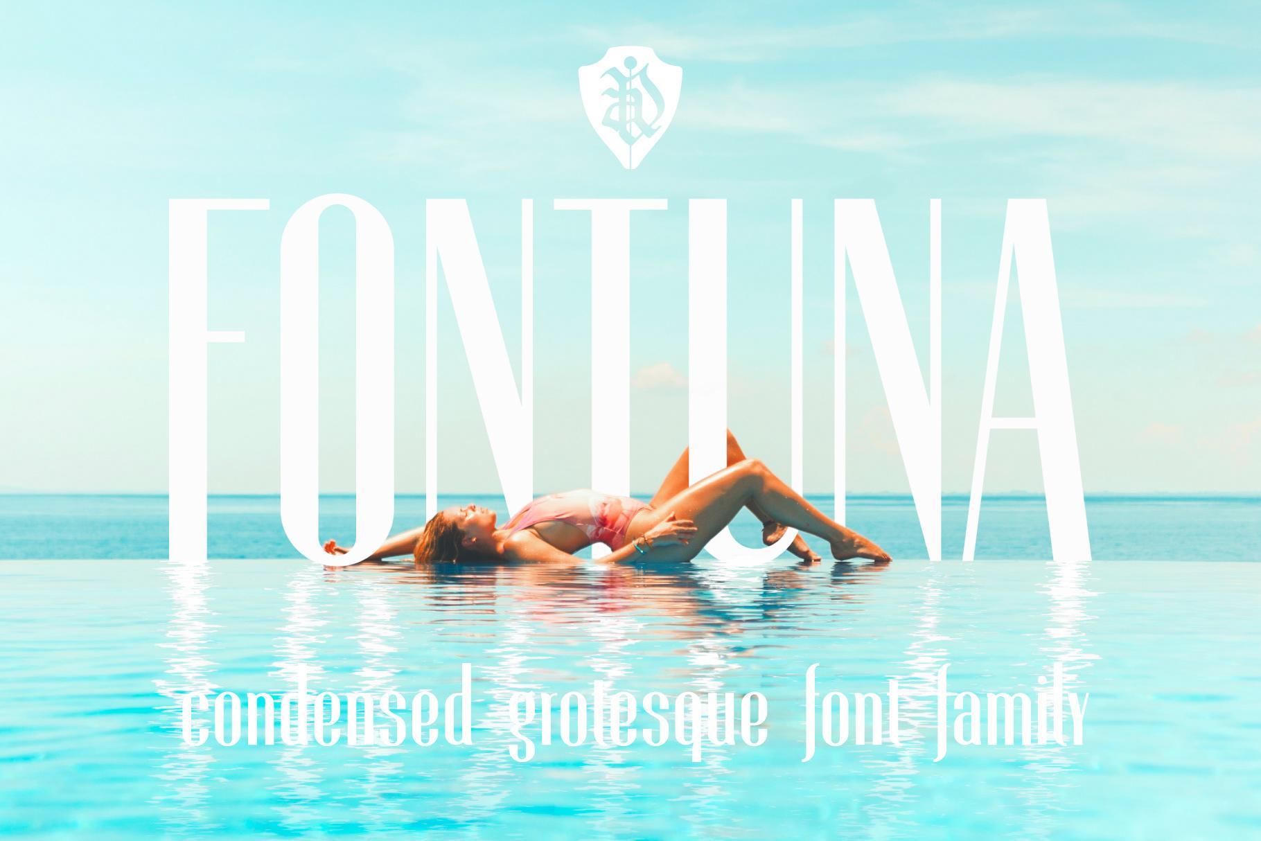 Fontuna Font Family On Behance