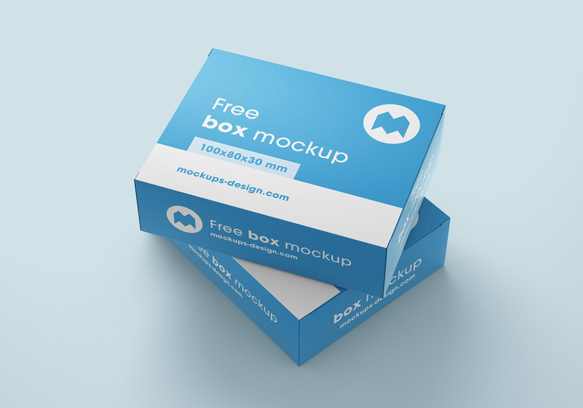 Download Free box mockups on Behance