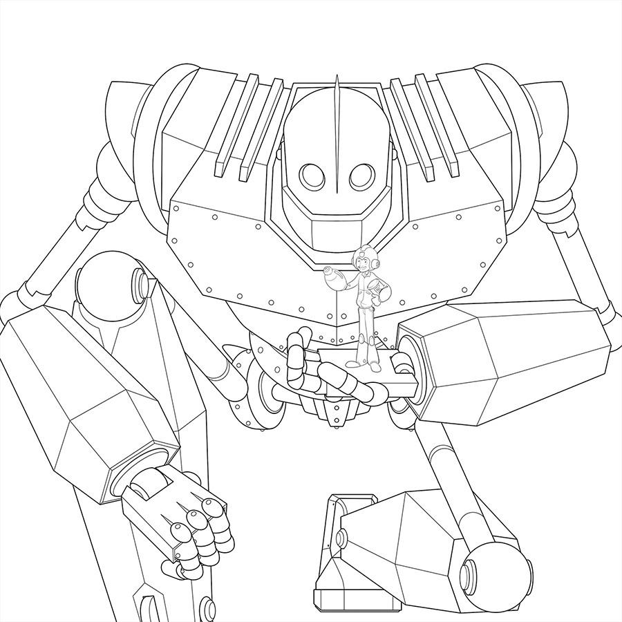 Iron Giant on Behance