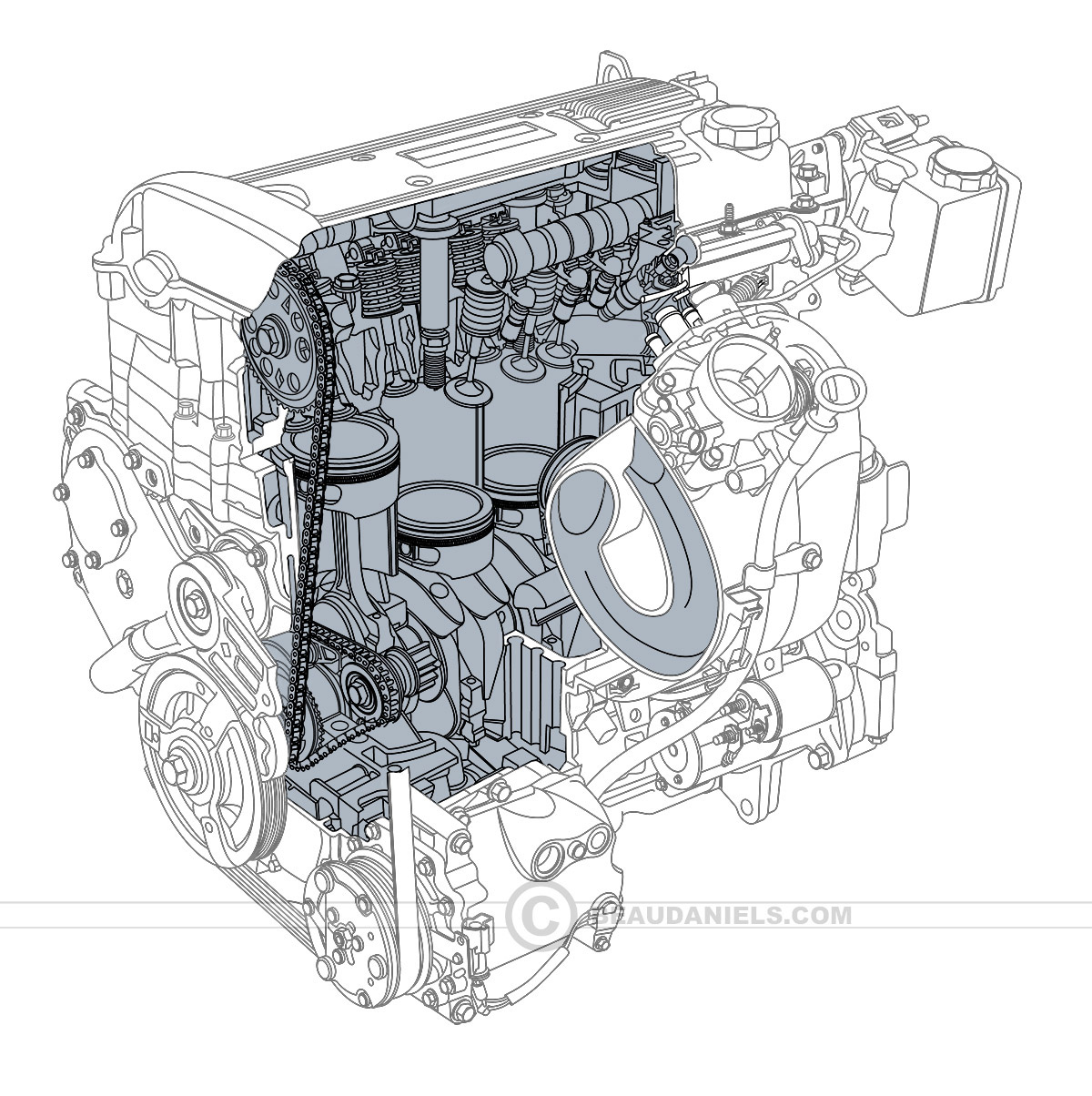 hight resolution of by model car engine diagram