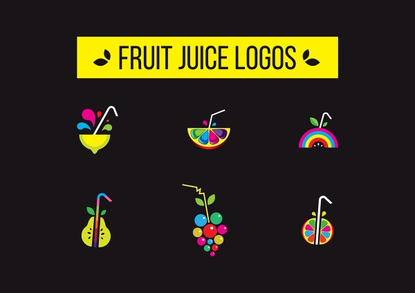 Fruit Juice Logos Vol 1 Behance