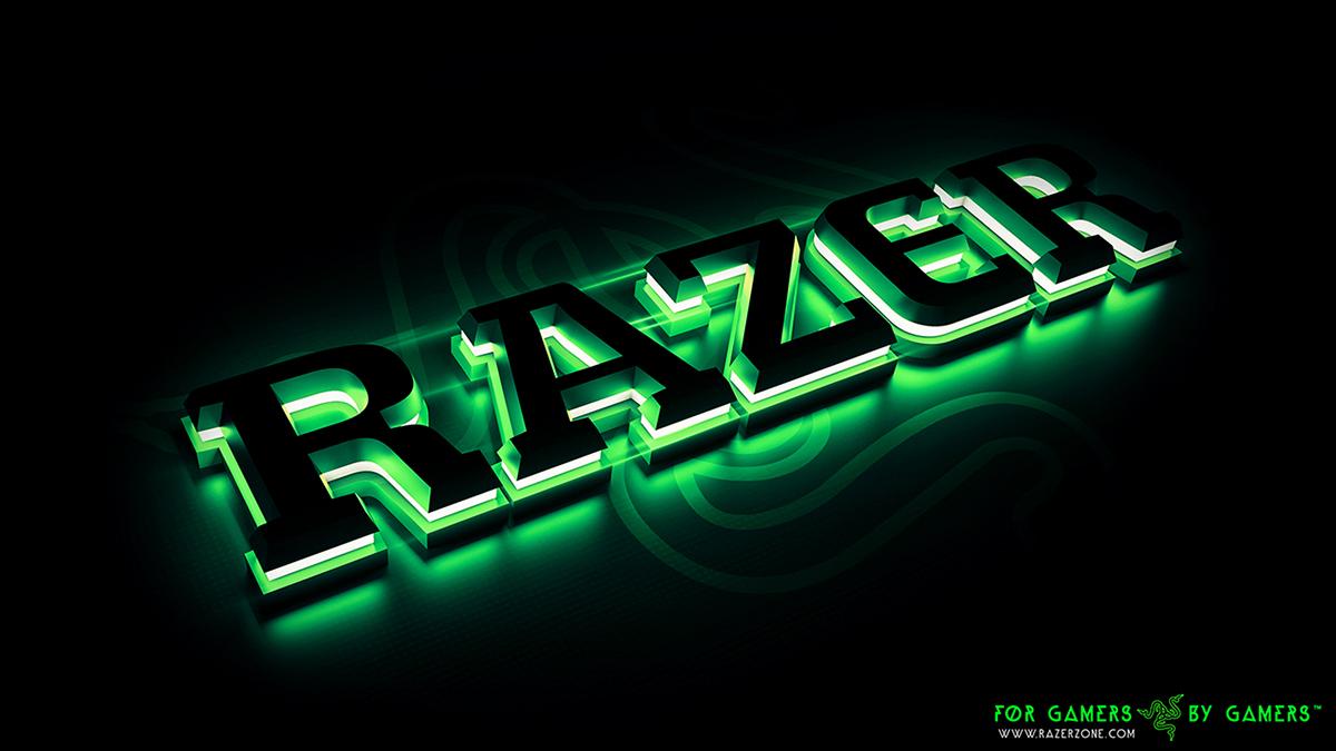 Razor 3d Wallpaper Razer Gaming On Behance