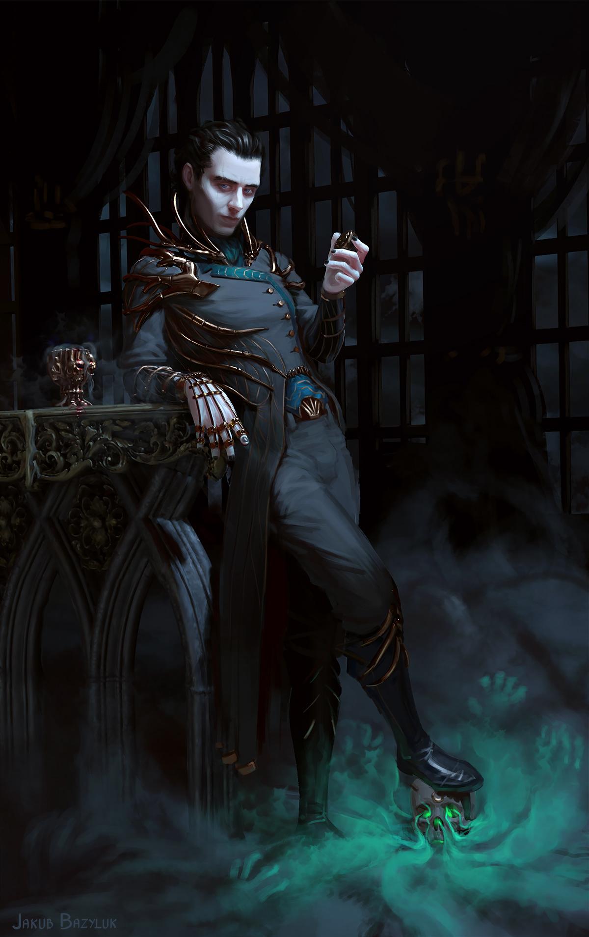 Morrow - steampunk necromancer on Behance