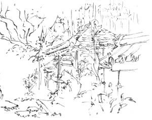 japan sketches behance