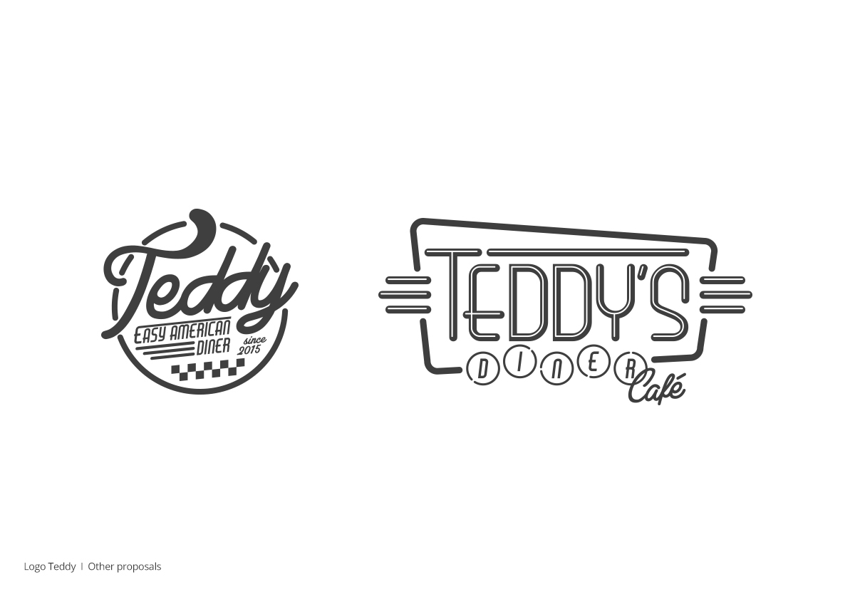Teddy I American Diner On Behance