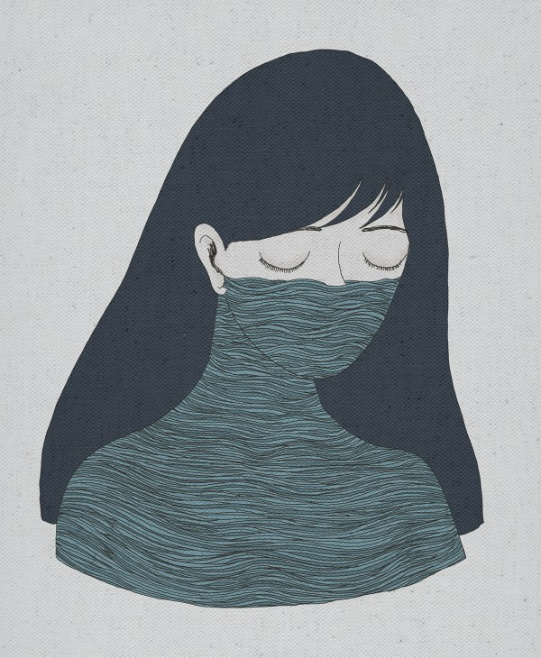 Sadness Illustration Behance