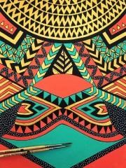 tribal ethnic pattern design