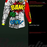 Cheap Mockup Freeride Jersey Mockup On Behance