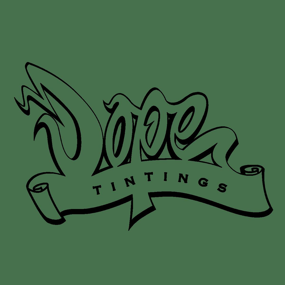 Dope Tintings Logo on Behance