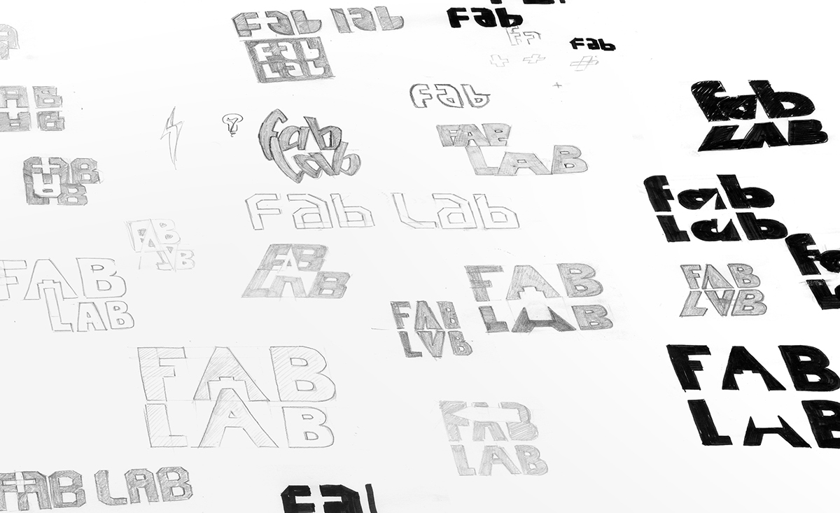 Fab Lab Branding on AIGA Member Gallery