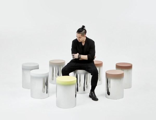 Dokkaebi Stool - Art Furniture Behance