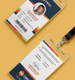 download creative office identity card template psd this creative office identity card template psd is a designed for any types of agency corporate and  [ 800 x 1296 Pixel ]