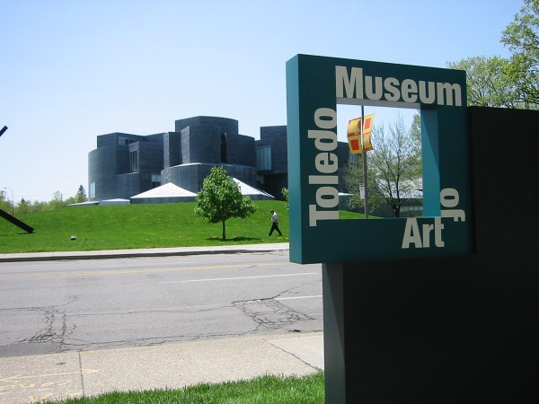 Toledo Museum Of Art Signage Program Behance