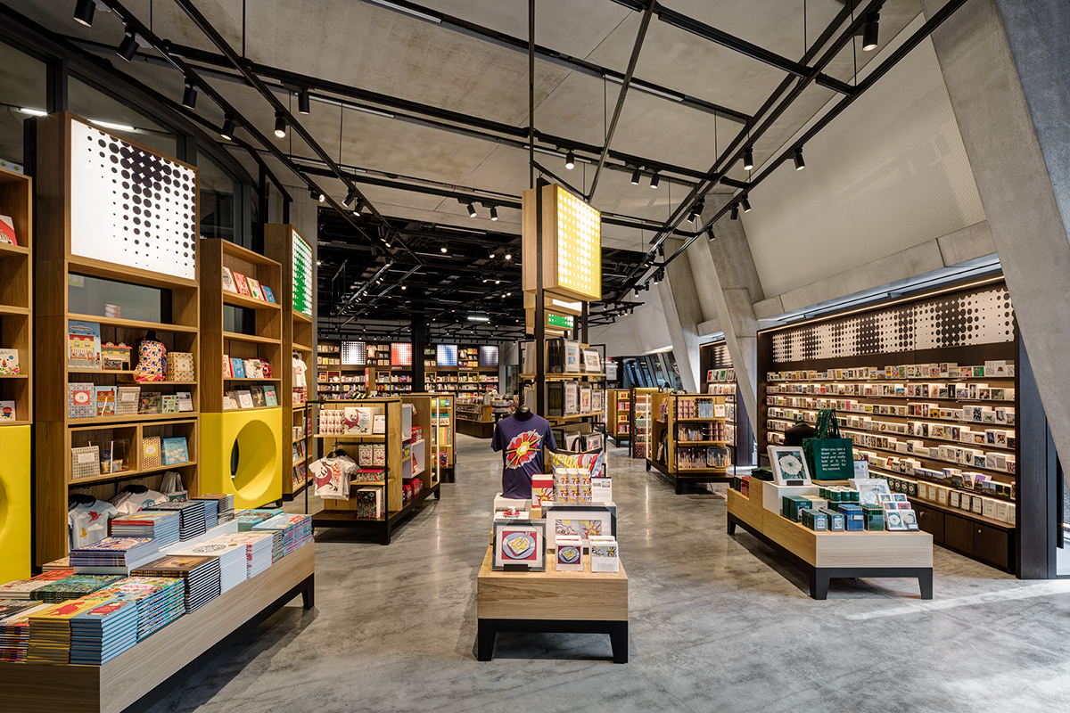 Tate Modern New Extension Retail Space on Behance