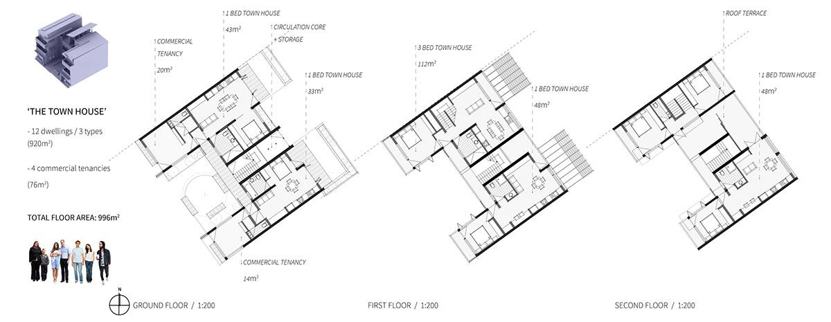 URBAN HYBRID: Residential infill development Launceston on